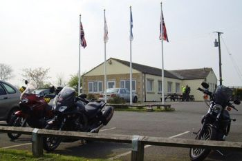 68 Cafe, Bikers Welcome, Bishop Auckland, County Durham