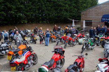 The Classic Motor Hub, Motorcycles, Bibury, Gloucestershire, Italian CandCs
