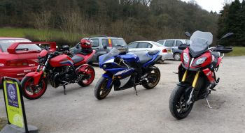 The Lazy Trout Truck Stop Cafe, Bikers Welcome, Marshbrook, Shropshire