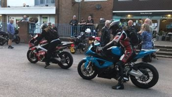 Tickety Brew Cafe, Bike Night, Aylesbury, Buckinghamshire