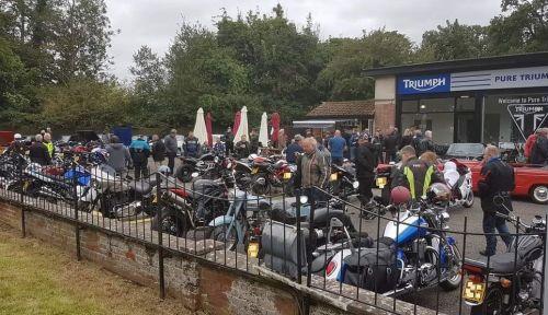 Stop and Stuff, Biker Cafe, Triumph, Milton Keynes, Buckinghamshire