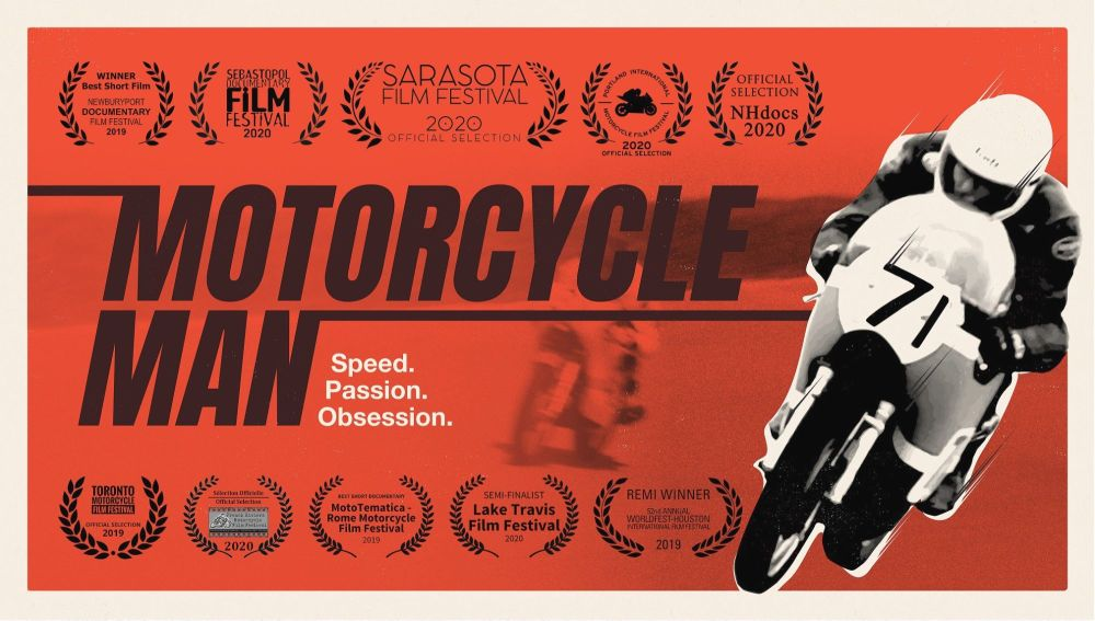Motorcycle Man Documentary, BMF, virtual screening