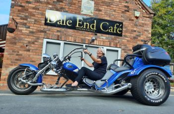 Dale End Cafe, Bikers Welcome, Telford, Shropshire