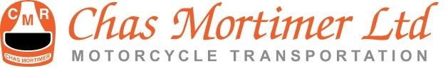 Chas Mortimer, Motorcycle Transportation, UK, Europe, Worldwide freight