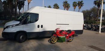 Chas Mortimer, Motorcycle Transportation, UK, Europe, Worldwide, Ducati