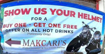Makcaris, Bikers Welcome, Herne Bay, Kent