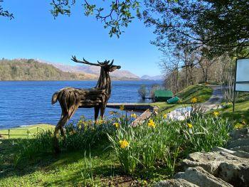 Portsonachan Hotel, Lodges, Bikers Welcome, Loch Awe, Argyll