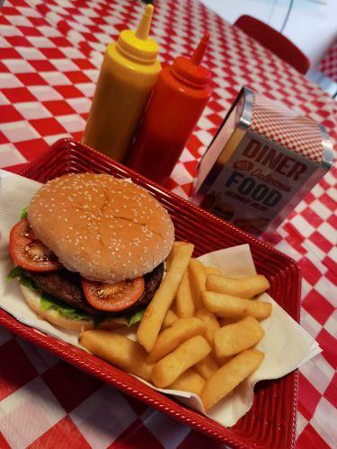 Pitstop Diner, Burgers, Fries, Biker Friendly, Leyland, Lancashire