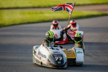 Lord of Lydden, Sidecar Burn Up, Lydden Hill Race Circuit, Kent