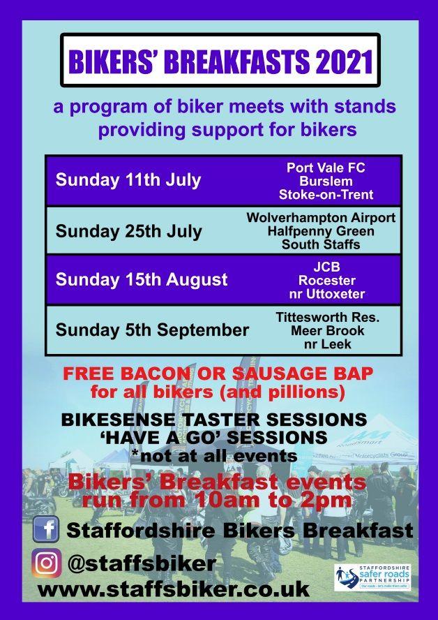 Staffordshire Bikers Breakfasts