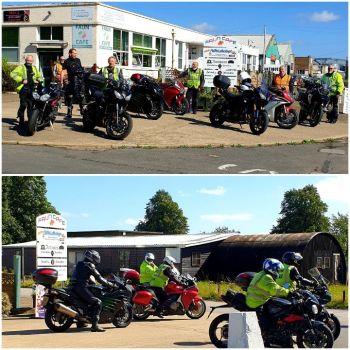 Faun Cafe, Biker Friendly, Gainsborough, Lincolnshire,