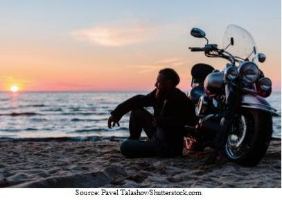Making Your Music Playlist for Motorcycle trips - Source Pavel Talashov - S