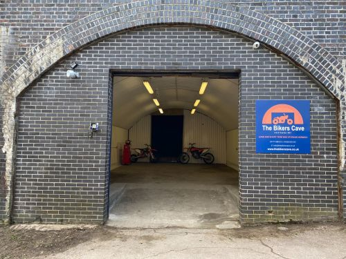 The Bikers Cave, Motorcycle Storage, Long and short term, Norwich, Norfolk