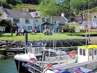 Port Askaig Hotel, Biker Friendly, Isle of Islay, Scotland