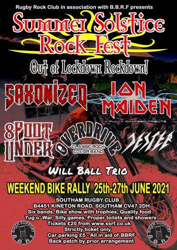 Summer Solstice Rock Fest Rally 2021