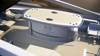 Combining The Love Of Riding And Boating - Motorcycle garage for yacht