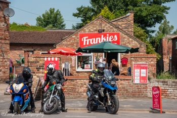 Frankies Cafe, Bikers Welcome, Driffield, East Yorkshire