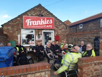 Frankies Cafe, Biker Friendly, Driffield, East Yorkshire