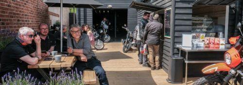 Bahnstormer Cafe, Bikers Welcome, Alton, Hampshire