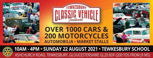Tewkesbury Classic Vehicle Festival 2021