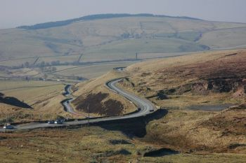 Cat and Fiddle Road, A537