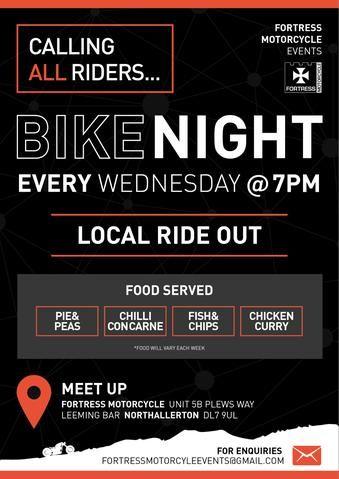 Fortress Motorcycle, Bike Night Wednesday, Northallerton, Yorkshire