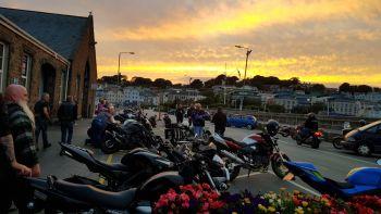Bike nights, Wednesday, Guernsey, Channel Islands, Greenman Millards Charit