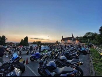 Old Rose And Crown, Bike Night Friday, Worcestershire