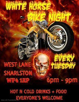 White Horse, Bike Night Tuesday, Wakefield, Yorkshire