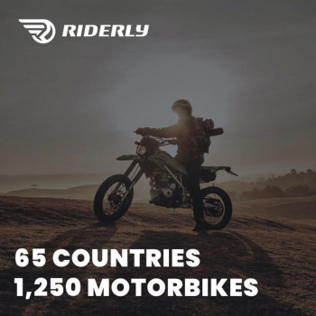 Riderly, Motorcycle Rentals, Tours, Worldwide, routes