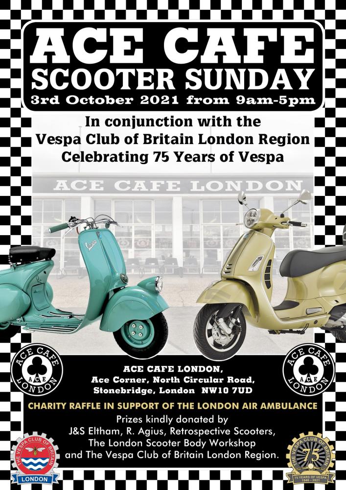 Vespa Club GB 75th Anniversary