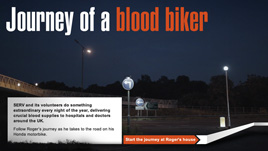 Journey of a Blood Biker