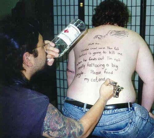 Suicidal Tattoo Artist
