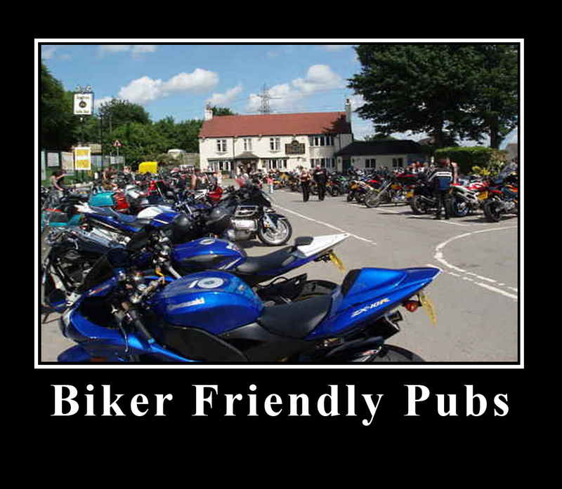 Biker Friendly Pubs on THE BIKER GUIDE