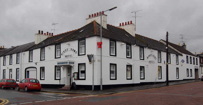 The Kings Arms Hotel, Biker Friendly,  Castle Douglas, Scotland