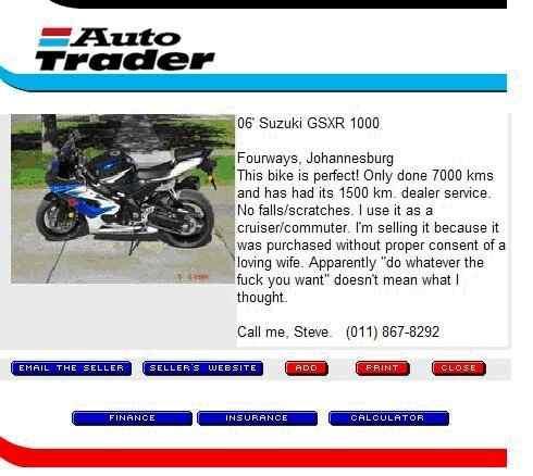 Auto Trader Biker