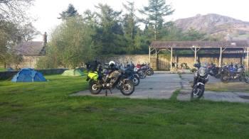 Platts Farm Camping, Biker Friendly, Llanfairfechan, Conwy, North Wales