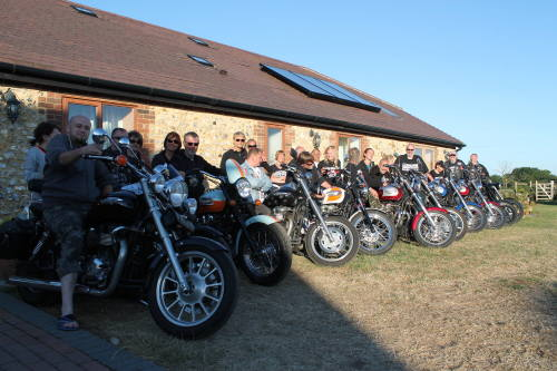 Coldblow Farm, Biker Friendly, Maidstone, Kent, group