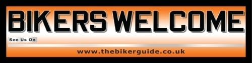 BIKERS WELCOME Banner