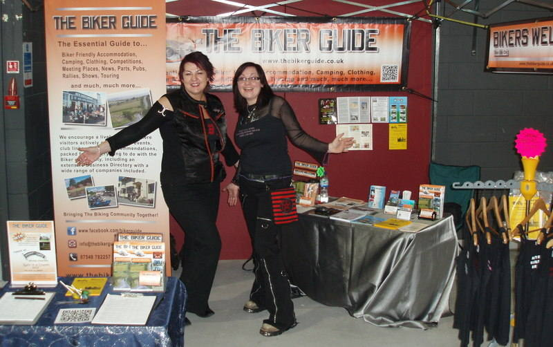 THE BIKER GUIDE @ the Manchester Show 2012