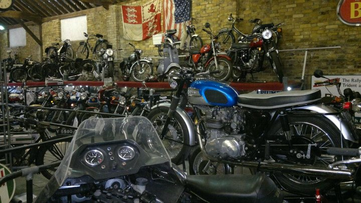 Motorcycle transport museums uk