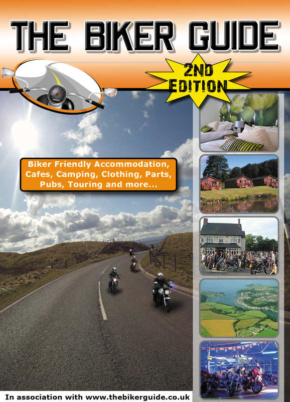 THE BIKER GUIDE booklet, 2nd edition