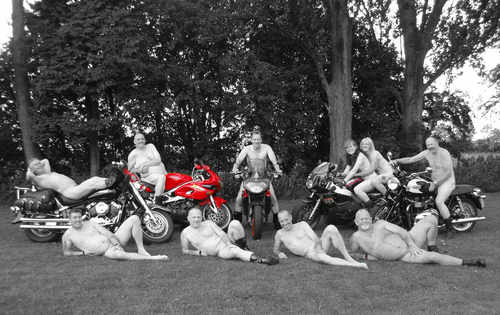 The Royal British Legion Riders Biker Calendar