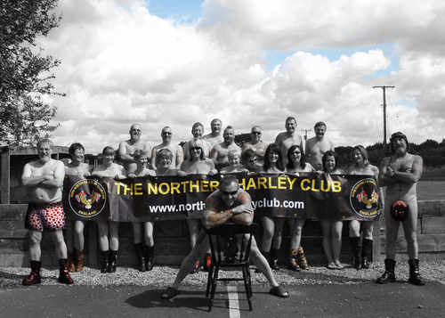 Northern Harley Club, NHC, Pete Smallwood, Kim Keyworth- Hardiman, Samantha
