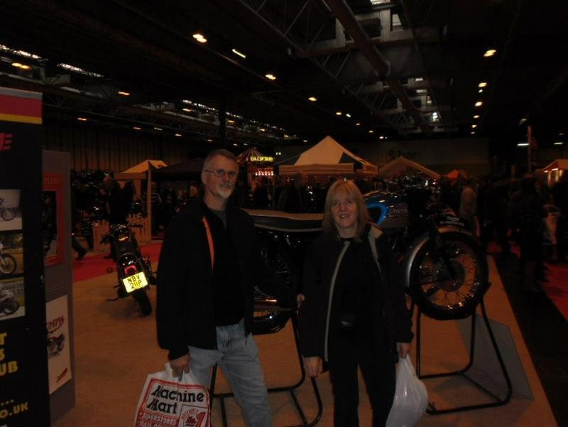 Amanda and Dave Beeson, winners of the tickets to the Footman james Classic