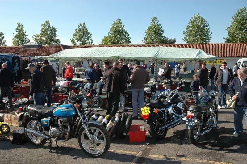 Kempton Park Motorcycle Jumble, Bike Mart, Middlesex