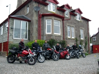 Galvelbeg House, Biker Friendly, Crieff, Perthshire,