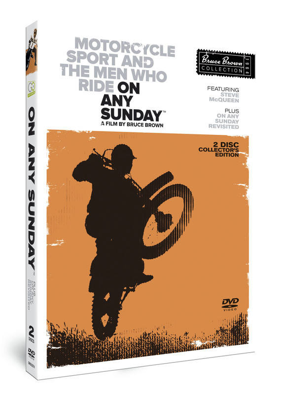 On Any Sunday, Bruce Brown, Steve McQueen,