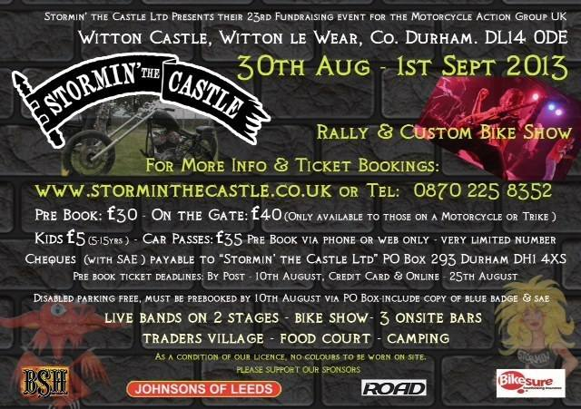 Stormin the Castle 2013