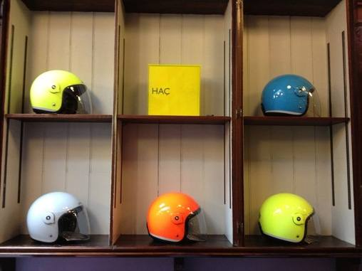 Tucano Urbano Elmet helmets, Italian-designed at Paul Smith